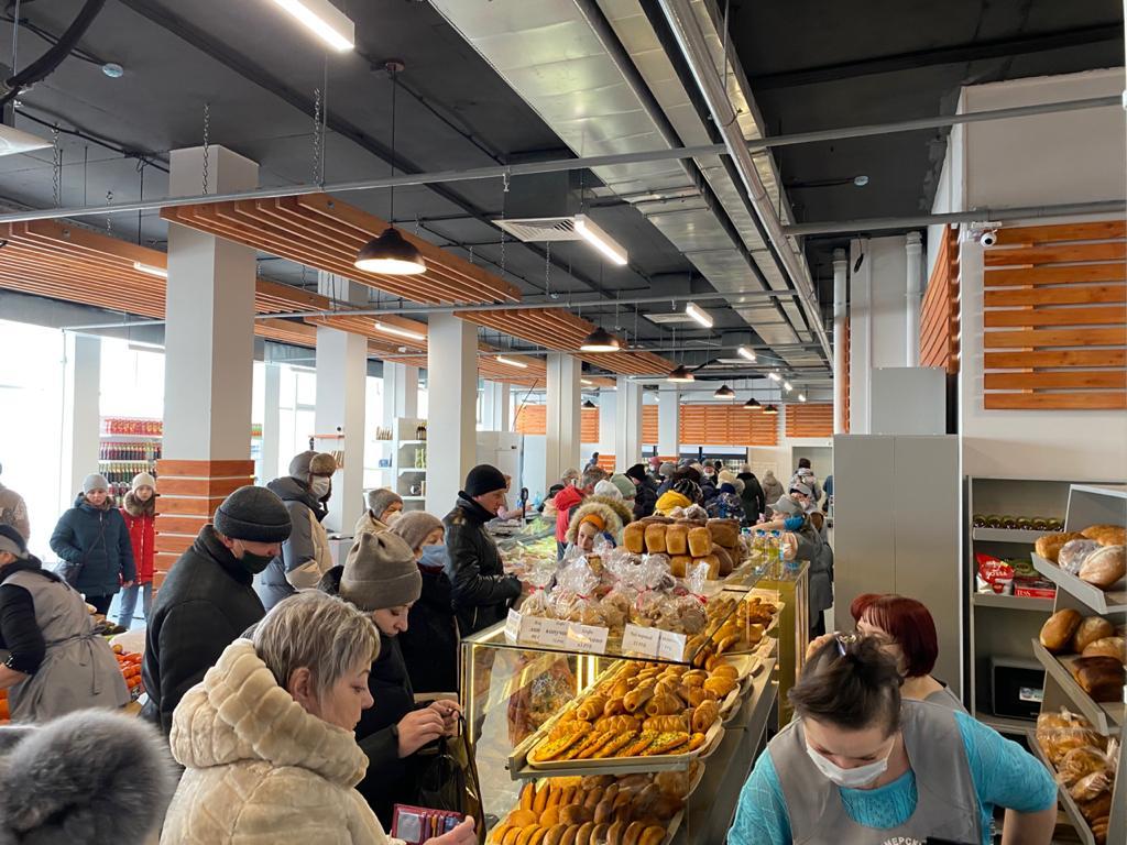 Адрес фермерского рынка в Коломне
