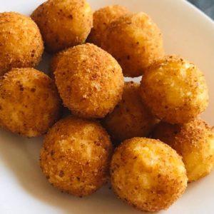 Домашние сырные шарики
