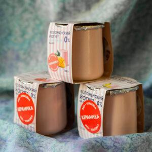 Йогурт Коломенское молоко обезжиренный Манго 0%