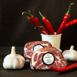 """Шейка """"Венская"""". Сырокопченый мясной продукт из свинины категории А."""