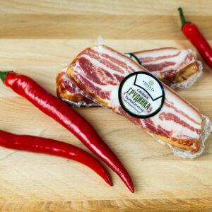 Грудинка. Продукты мясные копчено-вареные из свинины цельнокусковые категории B