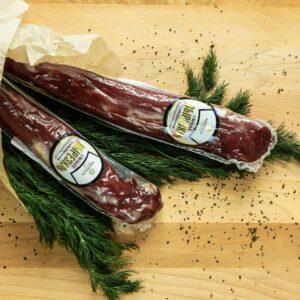 Вырезка свиная сыровяленая. Продукт мясной сыровяленый категории А.